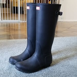 Hunter Boots in Black